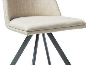 Jídelní čalouněná židle MIL béžová
