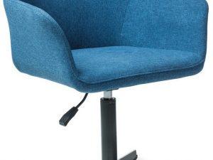 Čalouněná židle KUBO modrá