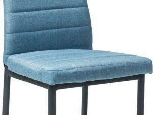 Jídelní čalouněná židle H-265 modrá