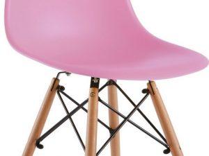 Jídelní židle ENZO růžová