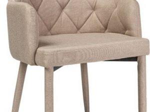 Jídelní čalouněná židle RICARDO béžová