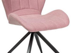Jídelní čalouněná židle HALS II růžová