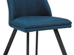 Jídelní čalouněná židle PABLO tmavě modrá