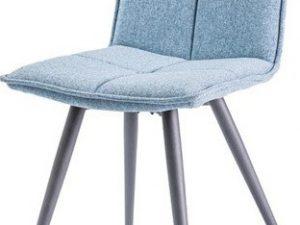 Jídelní čalouněná židle DARIO modrá