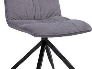 Jídelní čalouněná židle Alex šedá