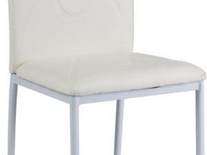 Jídelní čalouněná židle H-623 bílá