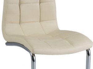 Jídelní čalouněná židle H-103 krémová