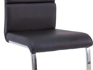Jídelní čalouněná židle H-456 černá