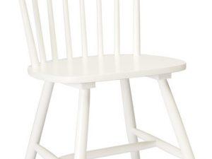 Jídelní dřevěná židle ALERO bílá