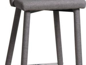 Barová židle JOKO šedá