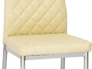 Jídelní čalouněná židle H-262 krémová