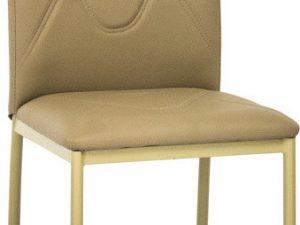 Jídelní čalouněná židle H-623 tmavě béžová