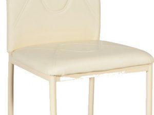 Jídelní čalouněná židle H-623 krémová