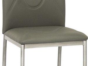 Jídelní čalouněná židle H-623 šedá