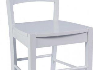 Jídelní dřevěná židle CD- bílá