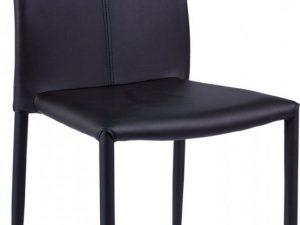 Jídelní čalouněná židle H-322 černá