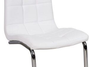 Jídelní čalouněná židle H-103 bílá