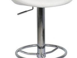 Barová židle KROKUS C-300 bílá