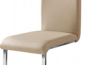 Jídelní čalouněná židle H-790 tm. béžová