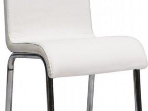 Jídelní čalouněná židle H-161 bílá