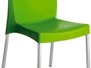 Jídelní židle Boulevard Verde plast - zelená