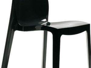 Zahradní židle ICE HIGLOOP* antracitový lesk - černá