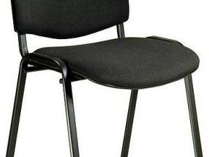 Jednací židle ISO černá