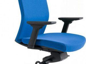 Office Pro Kancelářská židle J2 SP černý plast - tmavě modrá 211