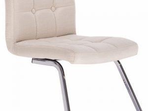 Židle LAVINIA - krémová