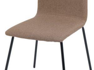 Jídelní židle RENITA - hnědá / černá