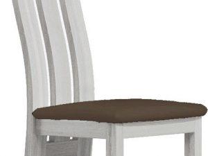 Čalouněná židle II jasan bílý/Victoria 36