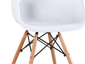 Jídelní židle SHELL bílá