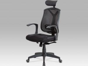 Kancelářská židle KA-D705 BK