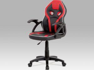 Dětská kancelářská židle KA-N664 RED