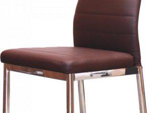Jídelní židle MILÁNO hnědá