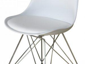 Jídelní židle PITU bílá