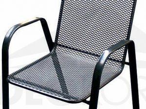 Deokork Kovová židle (křeslo) Sága vysoká