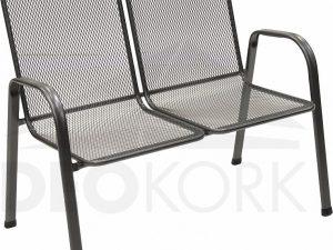 Deokork Kovová židle (křeslo) Sága dvojitá (dubl)