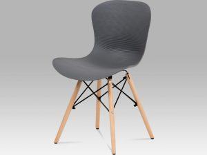 Jídelní židle AUGUSTA GREY - šedá