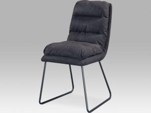 Jídelní židle DCH-255 GREY3 - šedá látka