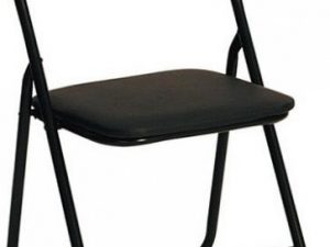 Skládací židle K5 - černá