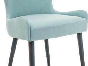Jídelní čalouněná židle PASSO máta/grafit