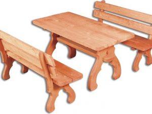 Casarredo OM-106 zahradní sestava ( 1 x stůl + 2 x lavice )  - Lavice na SEDI.cz