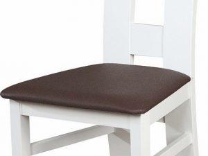Čalouněná židle K-2 bílá/Victoria 36
