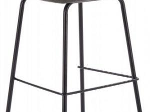 Barová židle H-92 - tmavě šedá
