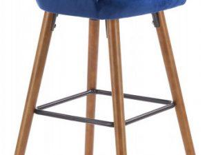 Barová židle H-93 - modrá