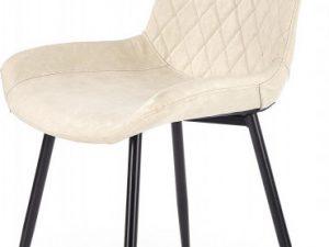 Jídelní židle K-313 - krémová