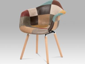 Jídelní židle CT-728 PW3 patchwork