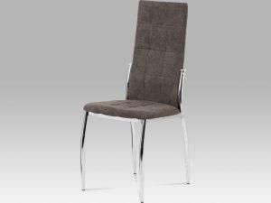 Jídelní židle DCL-213 LAN2 lanýžová látka