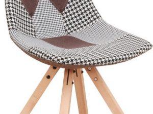 Designová židle PEPITO NEW TYP 10 - látka patchwork